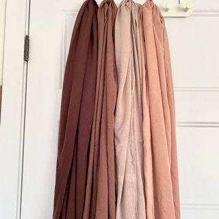 Rayon shawl scarves bundle