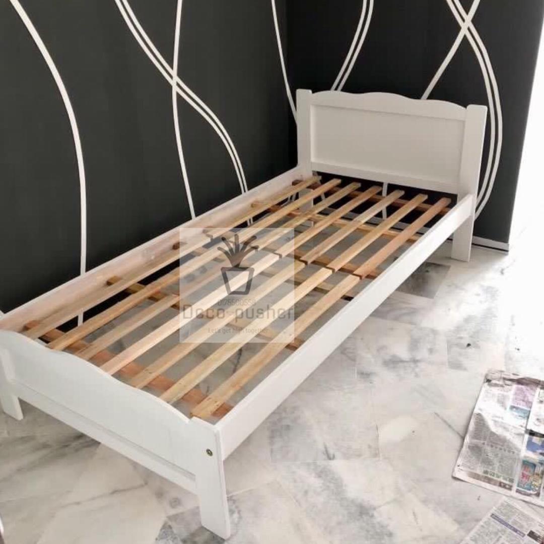Single Bed Frame Katil English