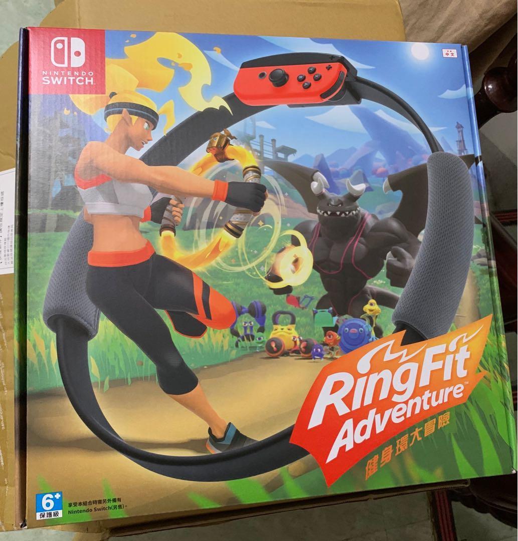 switch健身環+遊戲