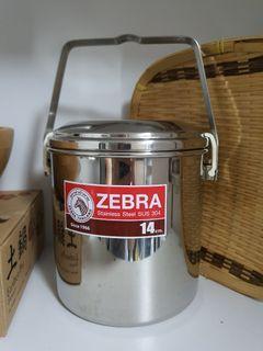 ZEBRA Stainless Steel (14cm)