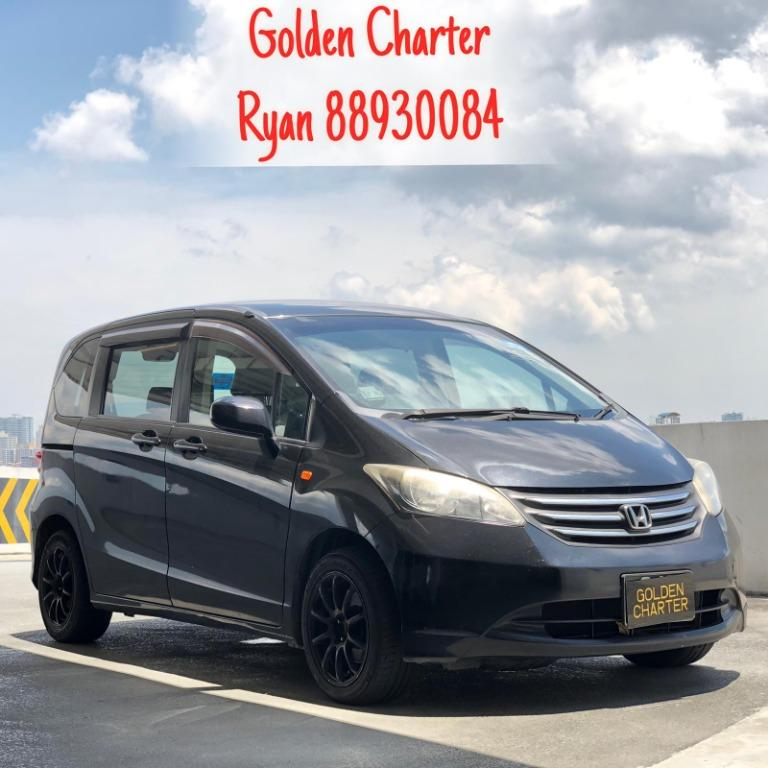 19/08 Call 8893 0084 Ryan Now ! Honda Freed 1.5A At Reduced Rental Rates ! WHILE STOCKS LAST ! CALL US NOW FOR ENQUIRIES ! Go-Jek Rebate, Grab, Ryde, PHV, Personal Usage Available ! Rent Car ! Car Rental ! Cheap Rental Car !