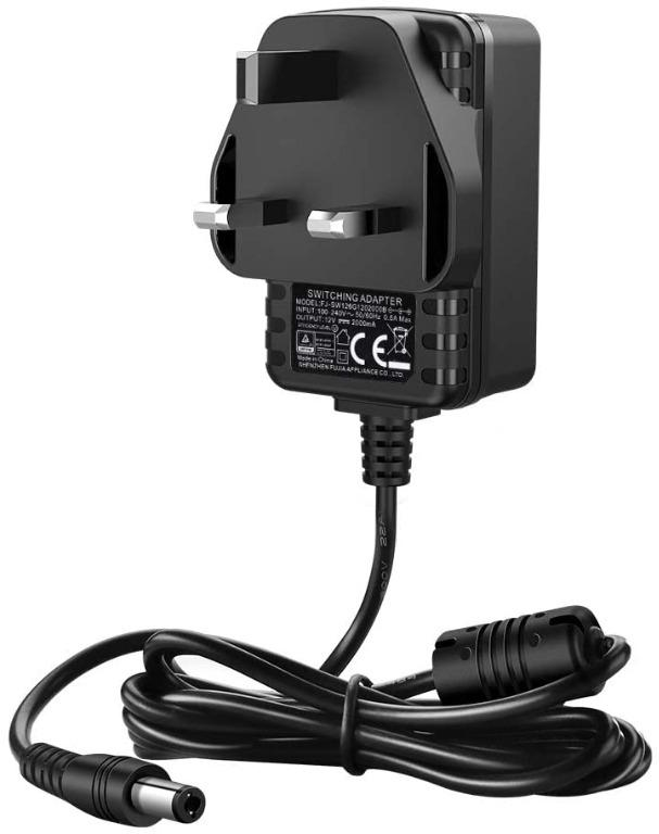 12V 2A 4mm x 1.7mm AC-DC Switching Adaptor Power Supply Charger UK Plug PSU