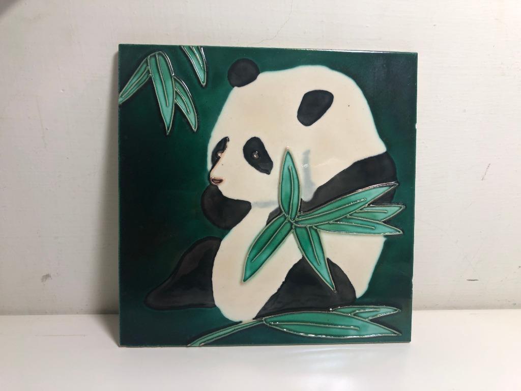 熊貓 瓷畫/磁磚