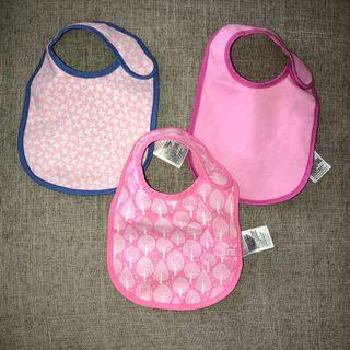 ❤️ MOTHERCARE 3-pack Baby Bibs