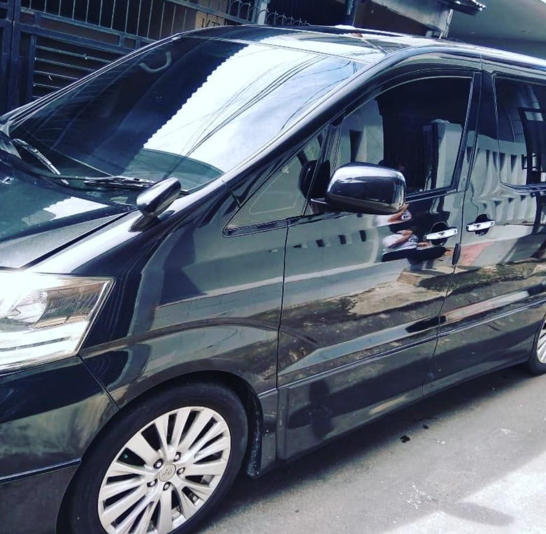 Alphard 2007 ASG Japan version