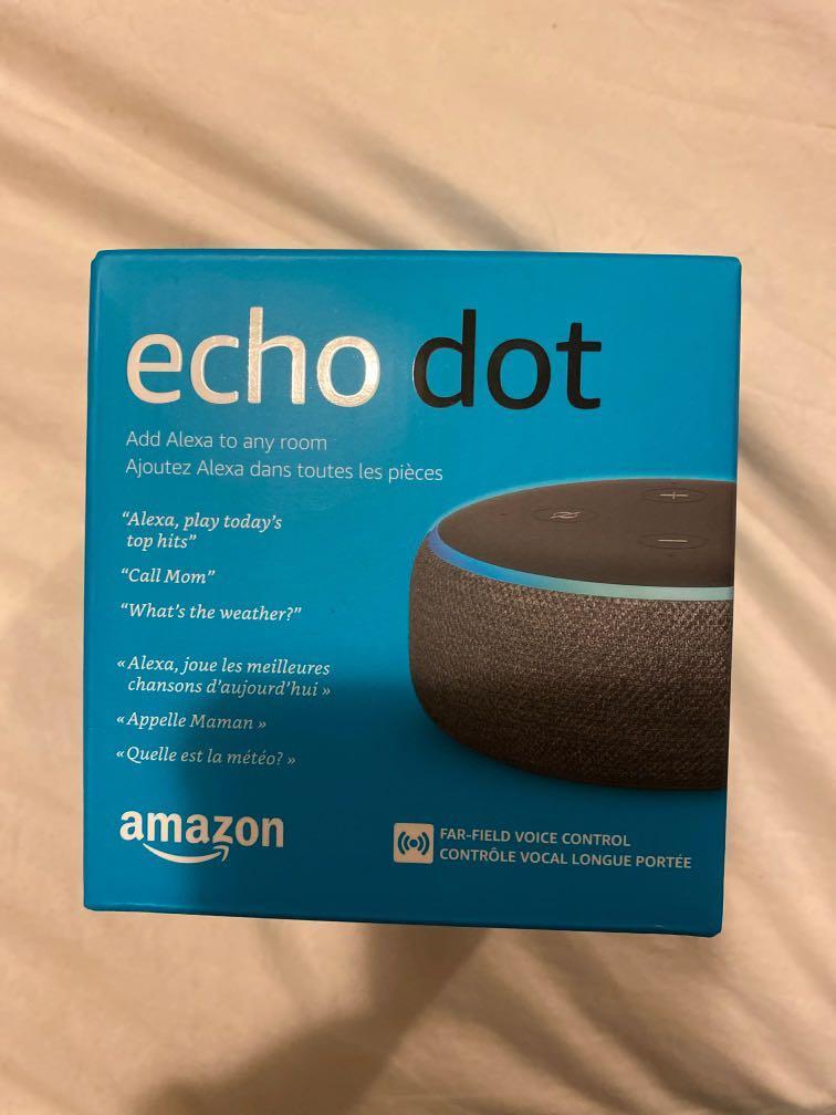 Brand new Echo Dot 3rd generation.