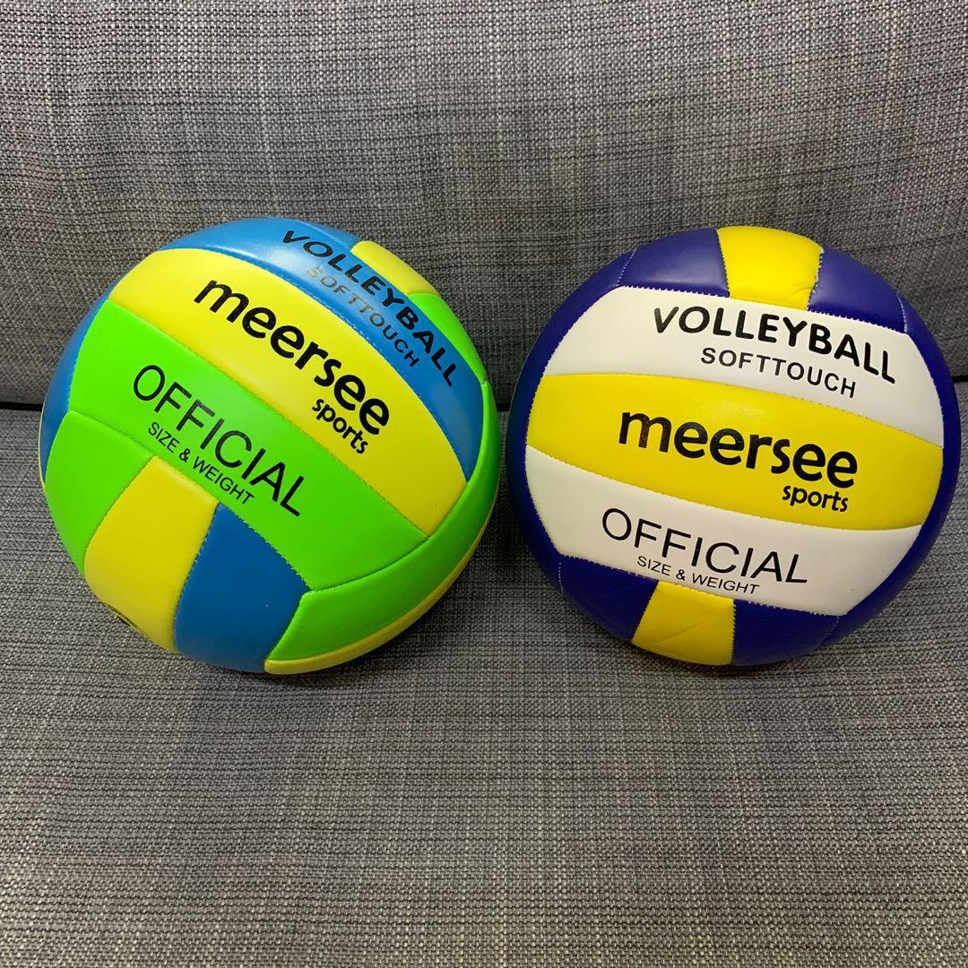 Ready Stock Brand New Volleyballs Beach Volley Ball Soccer Ball Futsal Football Netball Ball Pump Sports Sports Games Equipment On Carousell