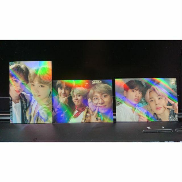 [現貨]BTS 韓五期 吊牌閃卡 雷射卡