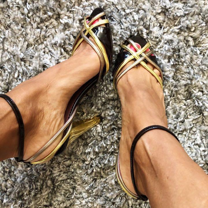 Cazabat Designer Peep Toe Sandals