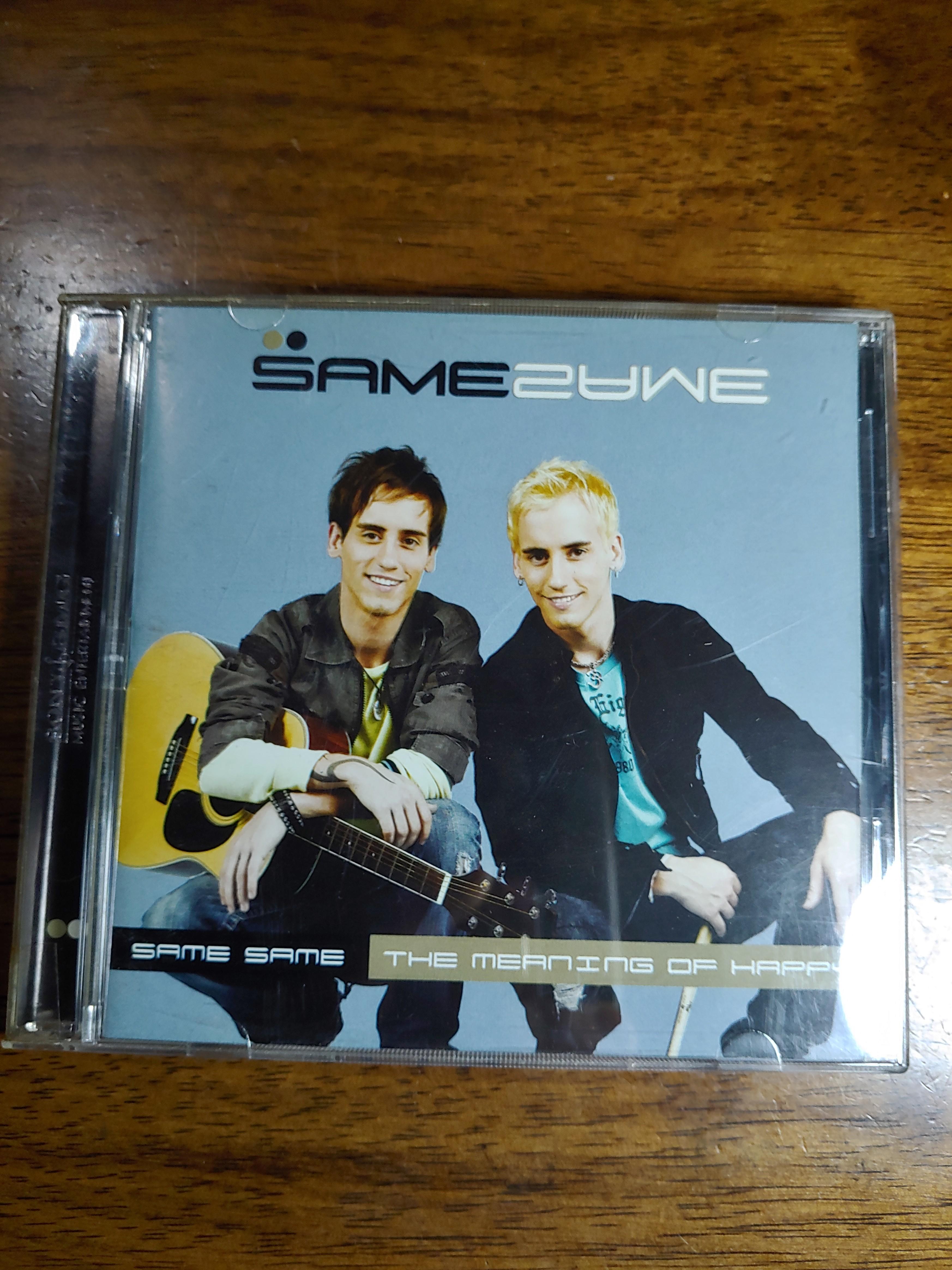 CD Same Same. The Moffatts. Music Travel Love. Kondisi 90%