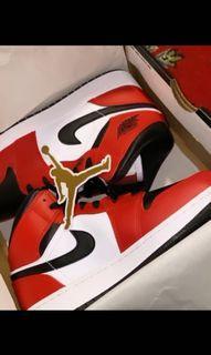 Chicago Jordan 1's