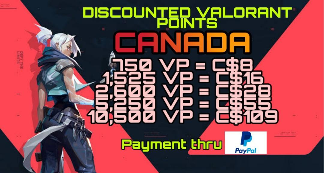 Discounted Valorant Points