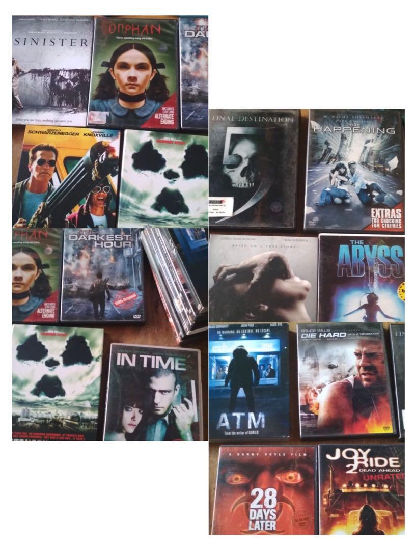 #agustus2020 DVD Film Original