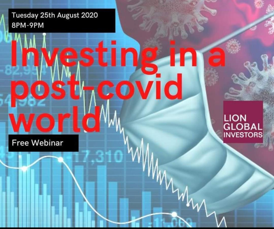 Free webinar - Investing in a Post-Covid world