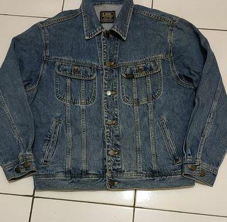Jaket Trucker Jeans Lee Original