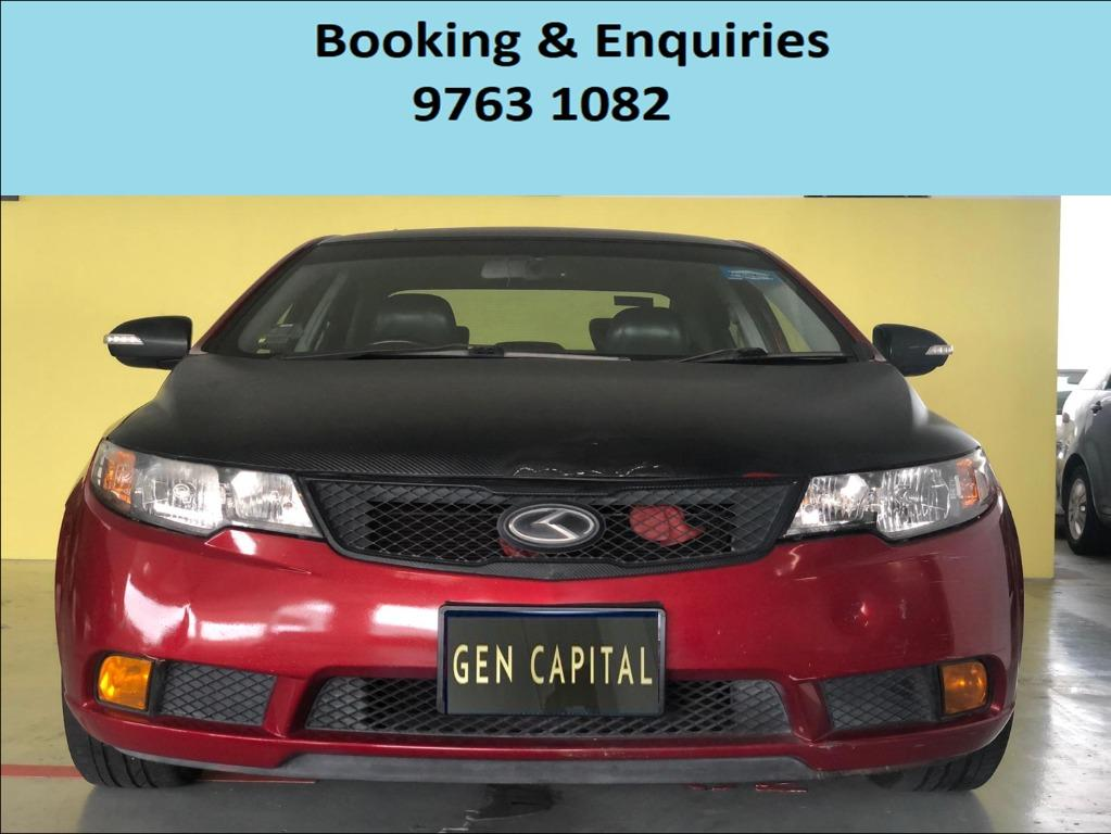 Kia Cerato ! Mid Week rental promotion price ! Deposit only @ $500 . Whatsapp 9763 1082 to reserve yours now !