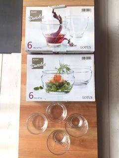 LOTUS玻璃對杯(共12個)