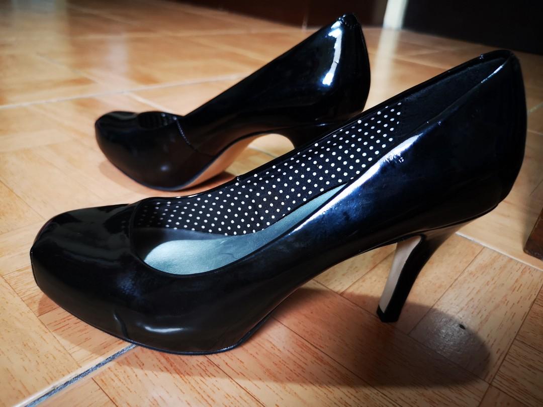 Madden Girl Black High Heels, Women's