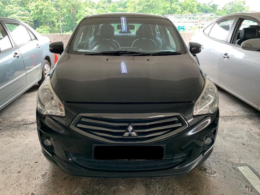 Mitsubishi Attrage 1.2 CVT (2016 model-black)