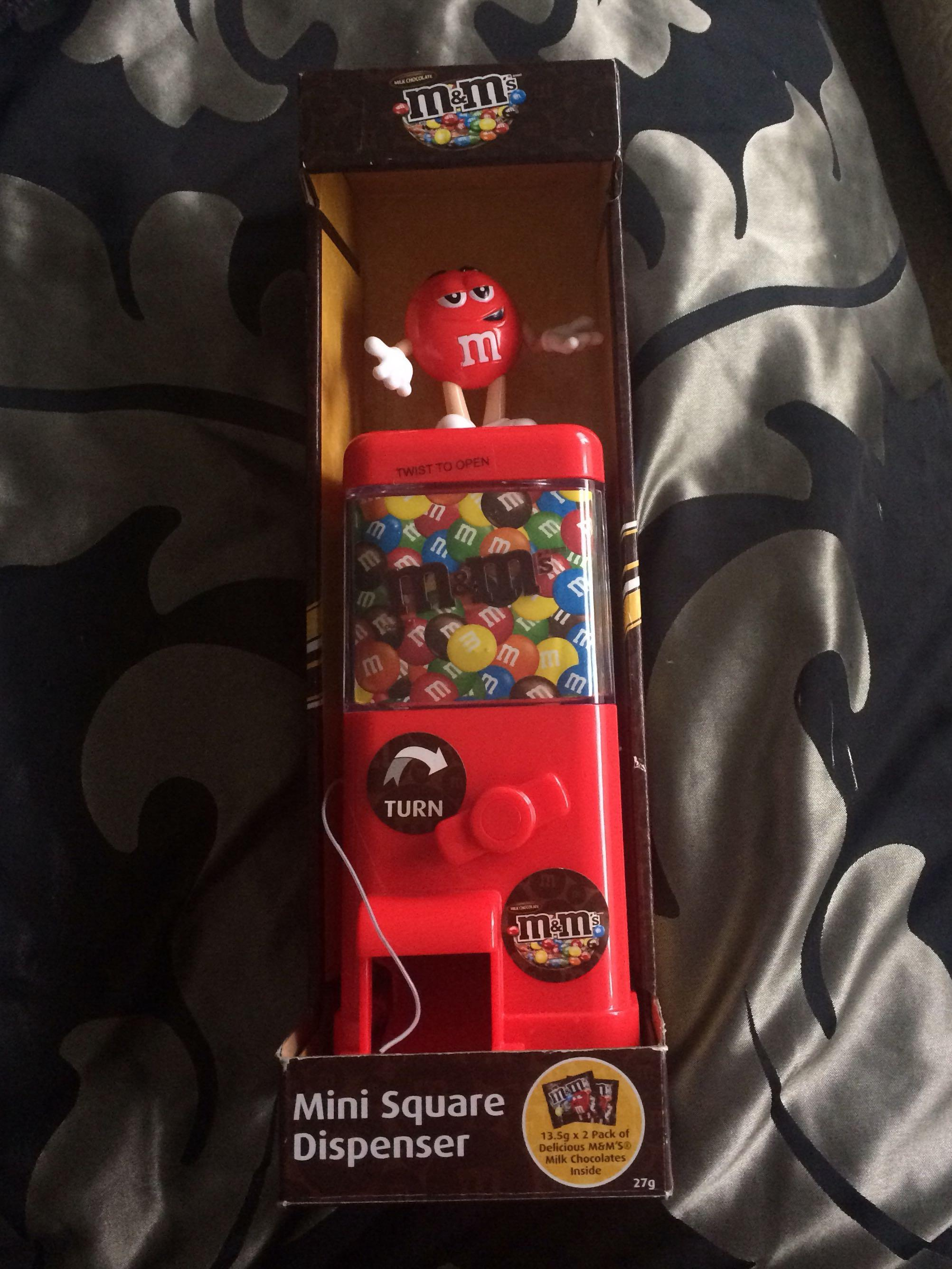 M&M dispenser