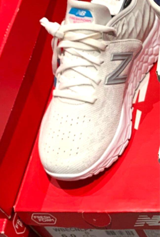 New Balance 女鞋 灰 避震 輕量 運動 健走 路跑 慢跑鞋 WBECNLP2 B US6
