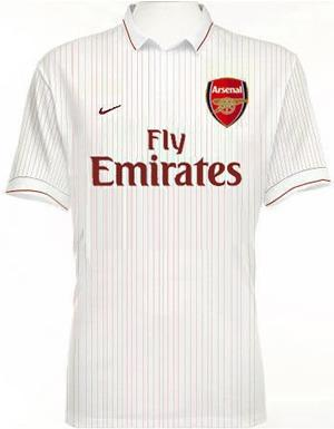 Nike Arsenal Fly Emirates Soccer Jersey (Size M)