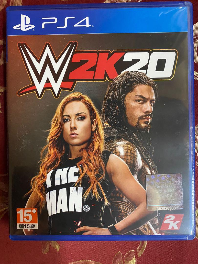 PS4 WWE2K20