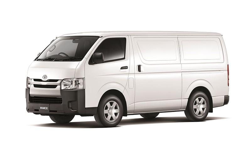 Toyota hiace for lease $1400Net(No GST)