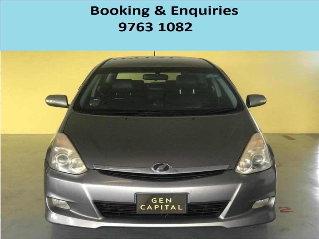 Toyota Wish ! ! Mid Week rental promotion price ! Deposit only @ $500 . Whatsapp 9763 1082 to reserve yours now !