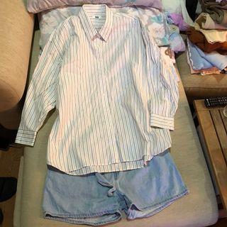 Uniqlo 女版襯衫全新xxl