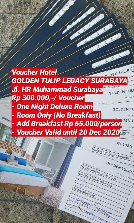 Voucher Hotel Golden Tulip Surabaya