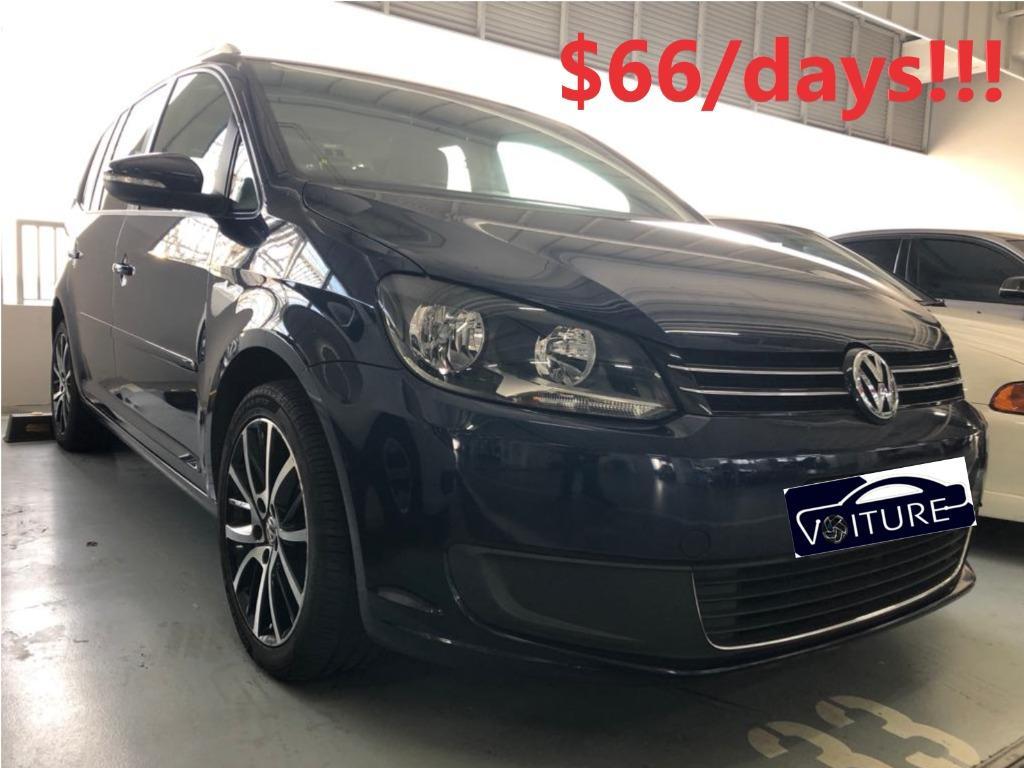 VW Touran Diesel 1.6TDI