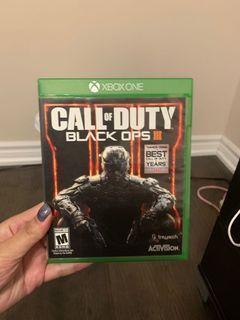 Xbox one game COD3