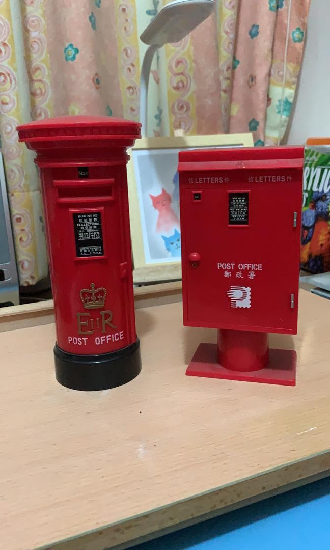 90年代香港郵政郵筒錢罌