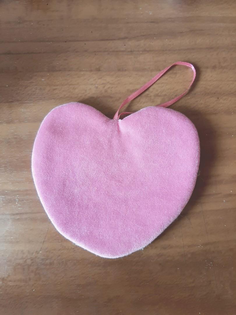 暖暖包袋 暖手袋 粉色愛心(可送)