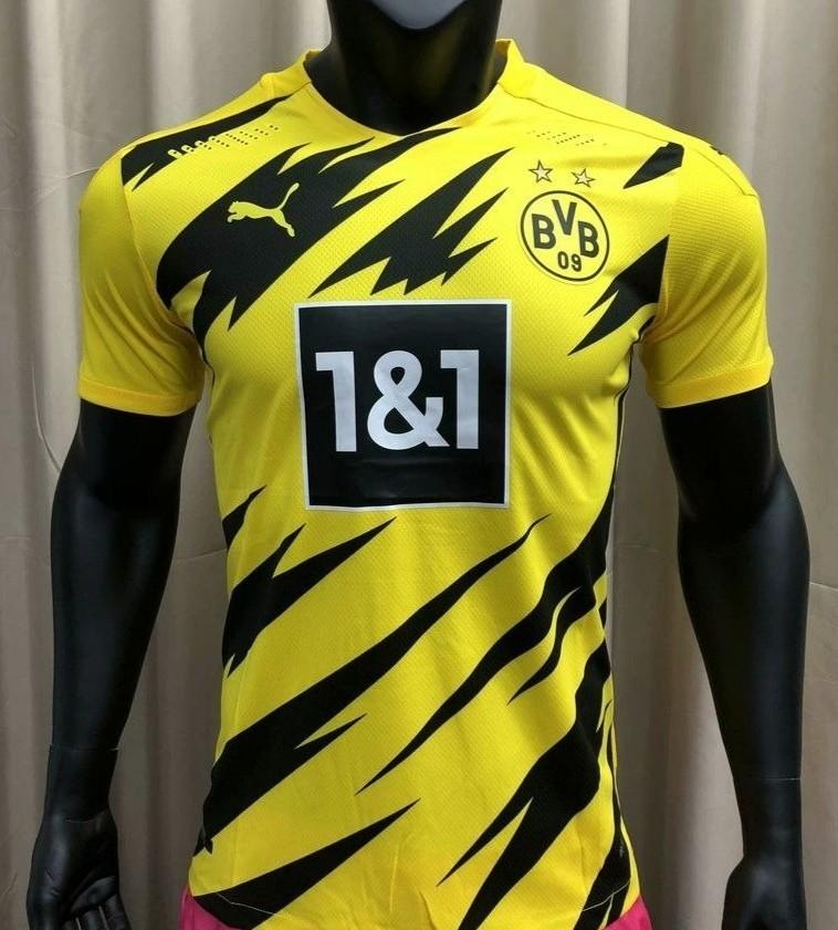 Borussia Dortmund 2020 21 Player Version Home Jersey Sports Athletic Sports Clothing On Carousell