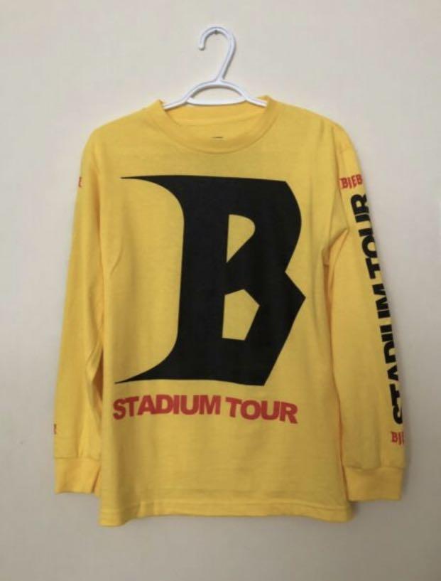BRAND NEW Justin Bieber Tour Merch Size Small