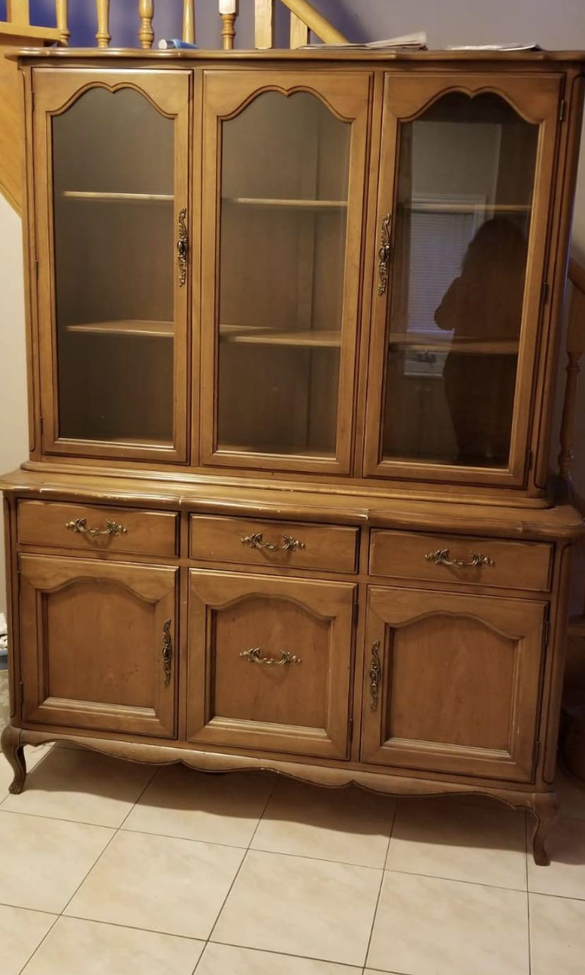 Buffet and Hutch (Display Case)