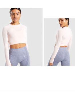 Gymshark vital seamless cropped long-sleeve