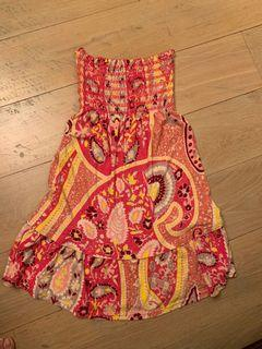 Juicy Strapless dress  for girls 12 years