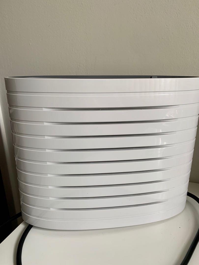 Like new hometrends desktop HEPA air purifier