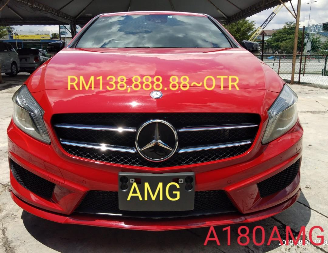 MERCEDES A180AMG SEPC 1.6TURBO 2015🇯🇵PRICE RM138,888.88~ON THE RPAD ~100%Not other charges.😊 ⭐~100%绝无别的收费😊⭐