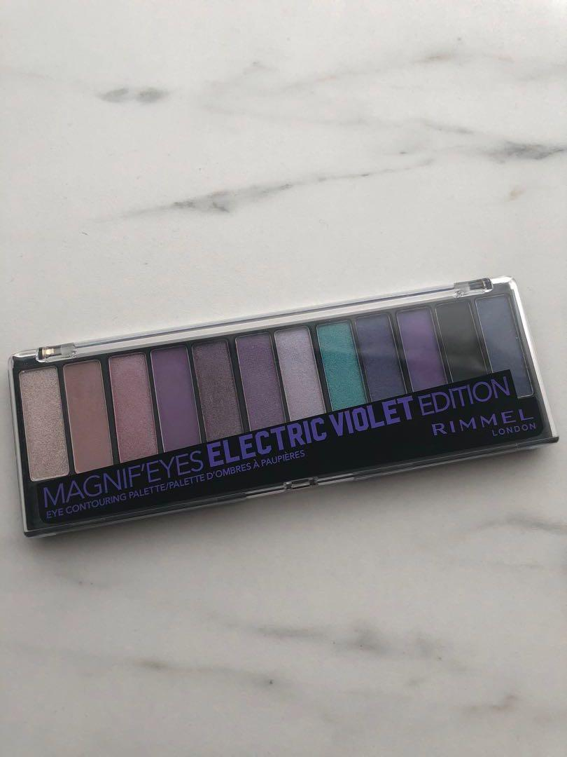 3 for $20: Nearly New Rimmel Electric Violet eyeshadow palette