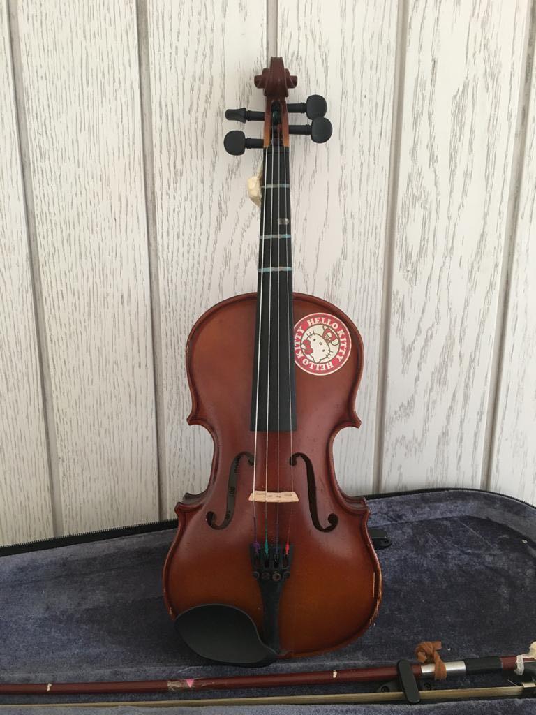 NETT PRICE! - Accoustic Violin 1/8 Biola Kecil Anak