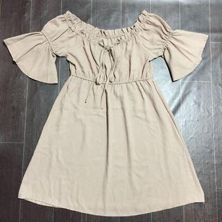 Offshie Nude dress
