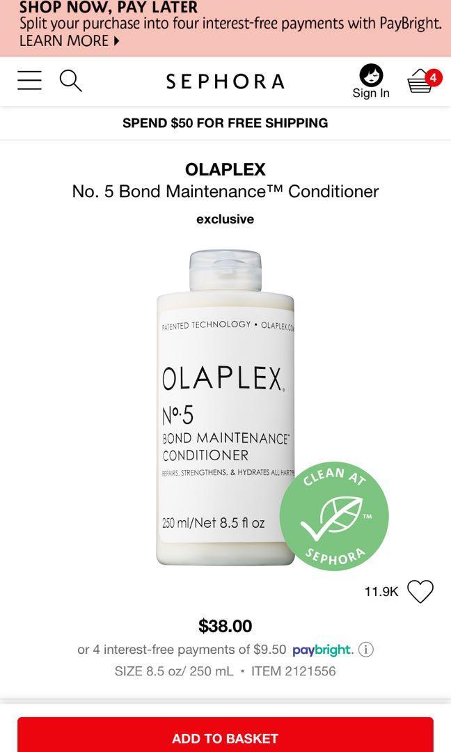 Olaplex conditioner #5