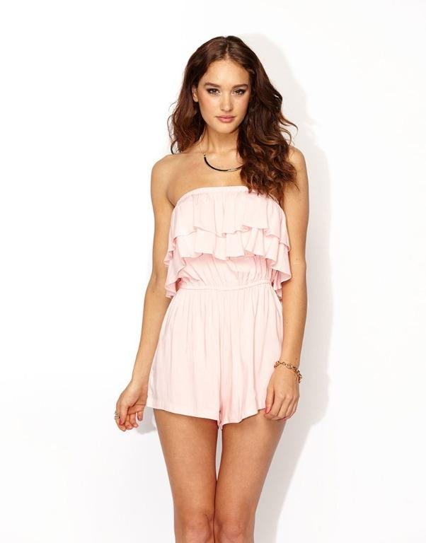 Pink Supre Playsuit Size 12