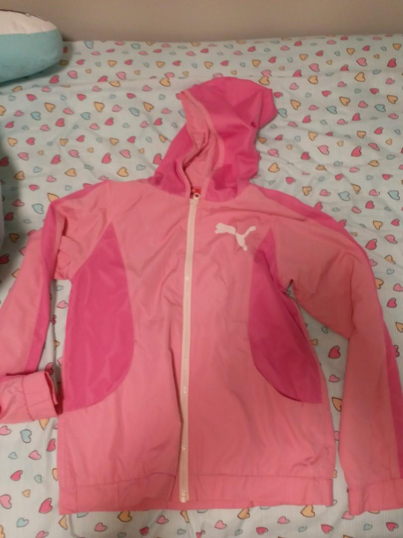 Puma girl's windbreaker