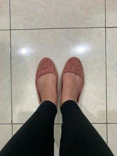 Rubi sandal flat shoes pink uk 37 jual murah bagus