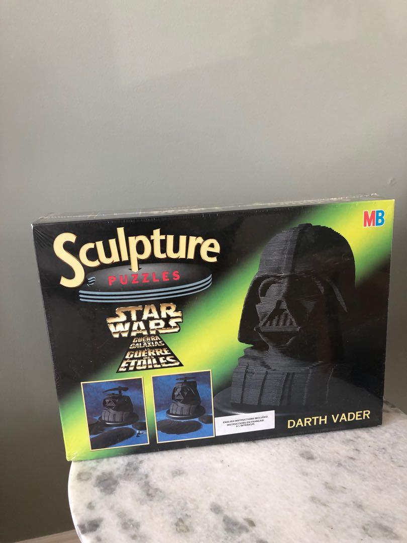 Stars Wars - Darth Vader 3D sculpture puzzle set